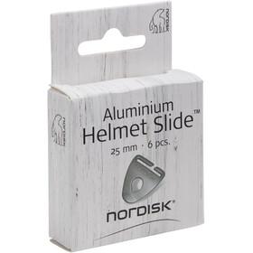 Nordisk Pasador Aluminio 25mm 6 Piezas, gris